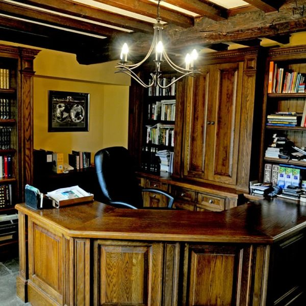Overthorpe Bespoke Study furniture
