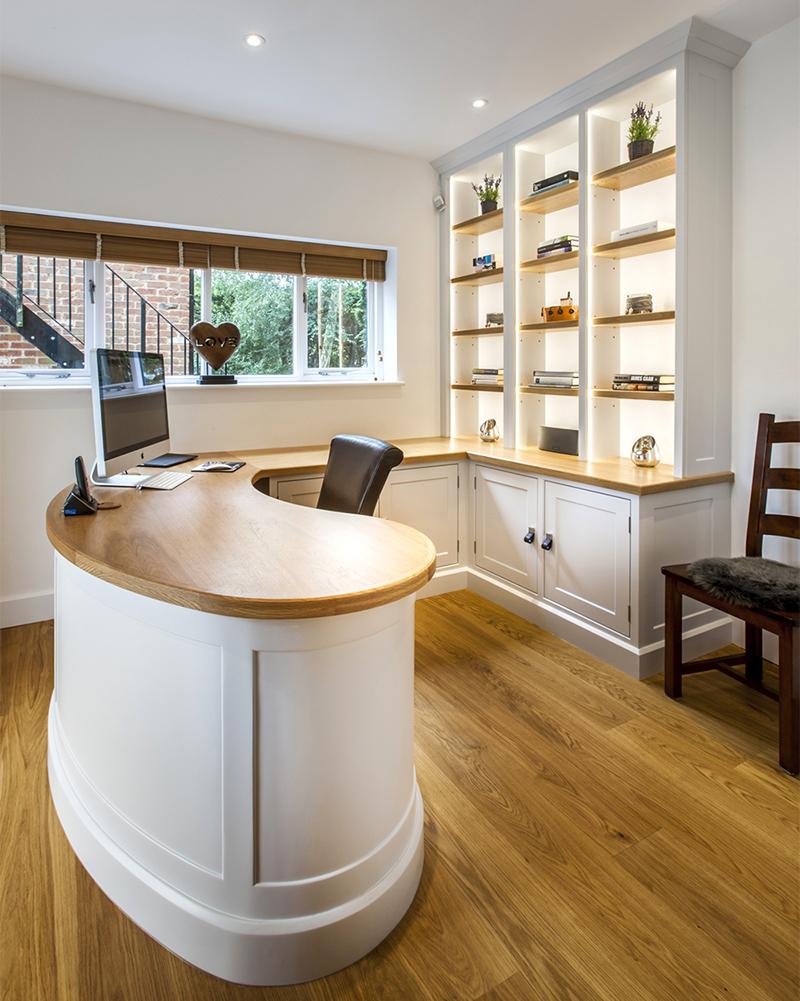 Handmade bespoke study furniture