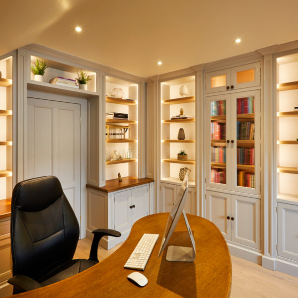 Traditional painted study Northants
